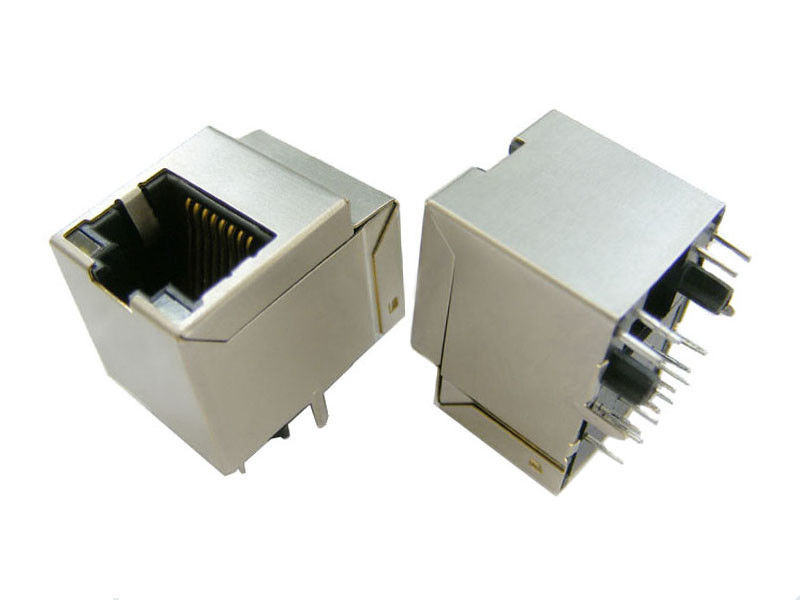 PoE Function Cat6 RJ45 Jack For Network Interface Cards And PC Applications